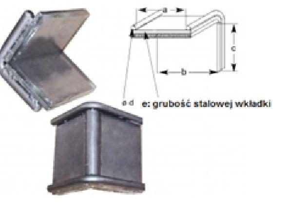 DoLex Schwerlastkantenschutzwinkel mit Stahleinlage